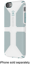 Speck - Candyshell Grip Case for Apple® iPhone® 6 - White/Blue