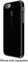 Speck - Candyshell Case for Apple® iPhone® 6 - Black/Gray