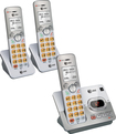AT&T - EL52303 DECT 6.0 Expandable Cordless Phone System with Digital Answering System - Silver