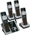 AT&T - CL82413 DECT 6.0 Expandable Cordless Phone System with Digital Answering System - Silver
