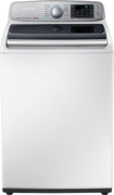 Samsung - 5.0 Cu. Ft. 13-Cycle High-Efficiency Top-Loading Washer - Neat White