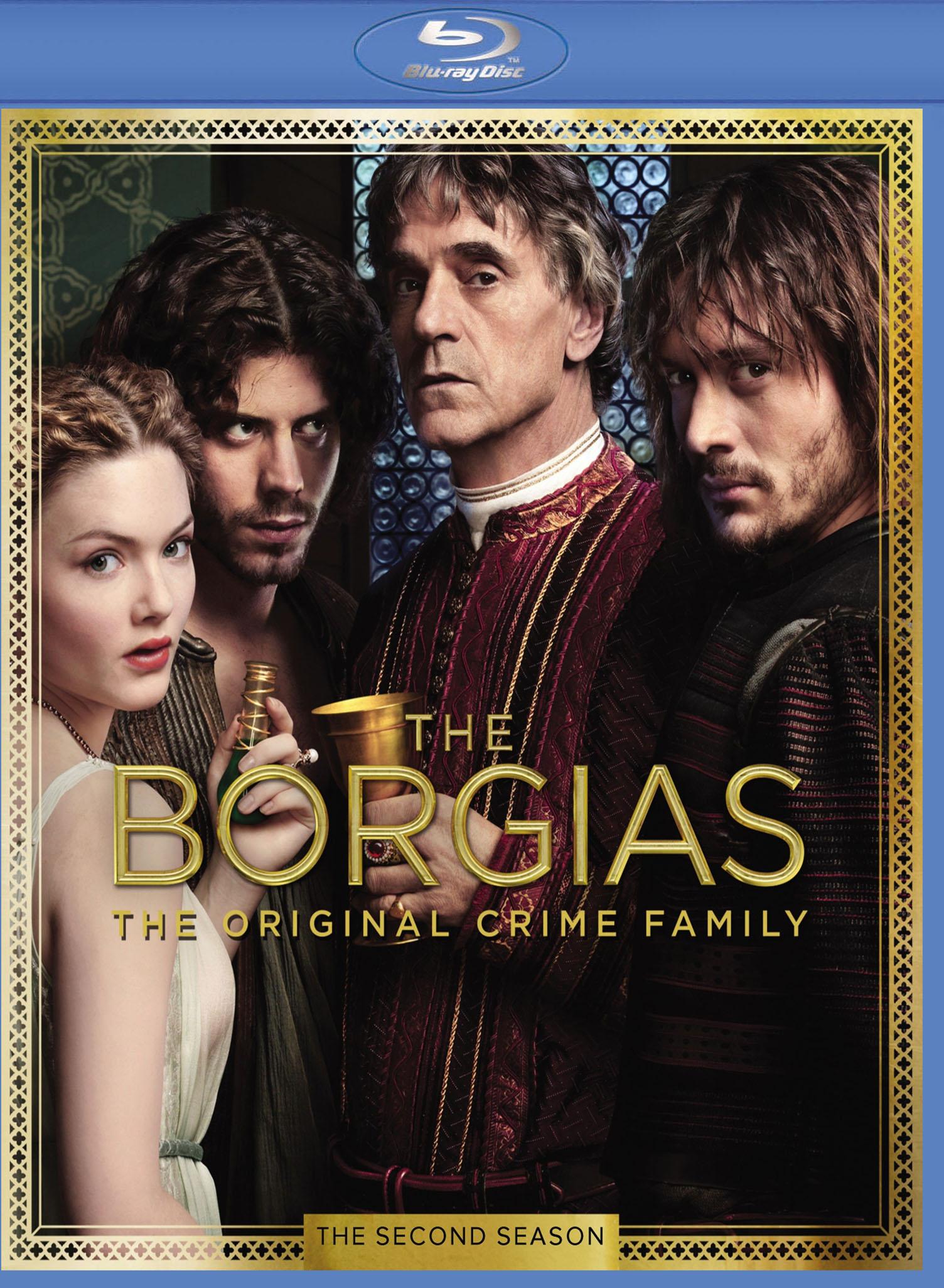The Borgias: The Second Season [3 Discs] [blu-ray] 8275078