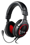 Sharkoon - X-Tatic S7 Gaming Headset for PlayStation 3, Xbox 360 and Windows - Black/Red