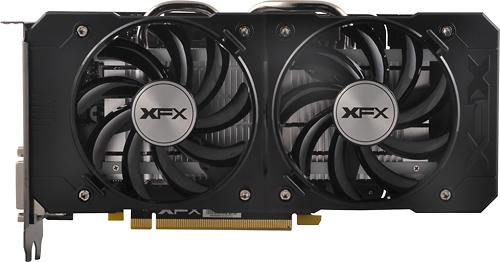 XFX AMD Radeon R7 360 2GB GDDR5 PCI Express 3.0 Graphics Card Black/Gray R7-360B-CDFR