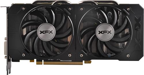 XFX AMD Radeon R7 370 2GB GDDR5 PCI Express 3.0 Graphics Card Black/Gray R7-370B-CDFR
