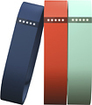 Fitbit - Flex Activity and Sleep Wristband Pack (Large) - Blue/Teal/Tangerine