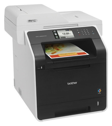 Brother - MFC-L8850CDW Wireless Color All-In-One Printer - White
