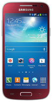 Samsung - Galaxy S 4 Mini DUOS I9192 Cell Phone (Unlocked) - Red