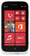 Nokia - Lumia 822 Unlocked GSM 4G LTE Cell Phone (Verizon Wireless) - White