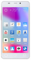 Blu - Life Pure Mini 4G Cell Phone (Unlocked) - White