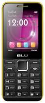 Blu - Tank II Cell Phone (Unlocked) - Black/Yellow