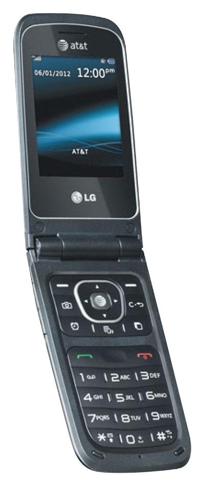 LG - A340 Cell Phone (Unlocked) - Gray