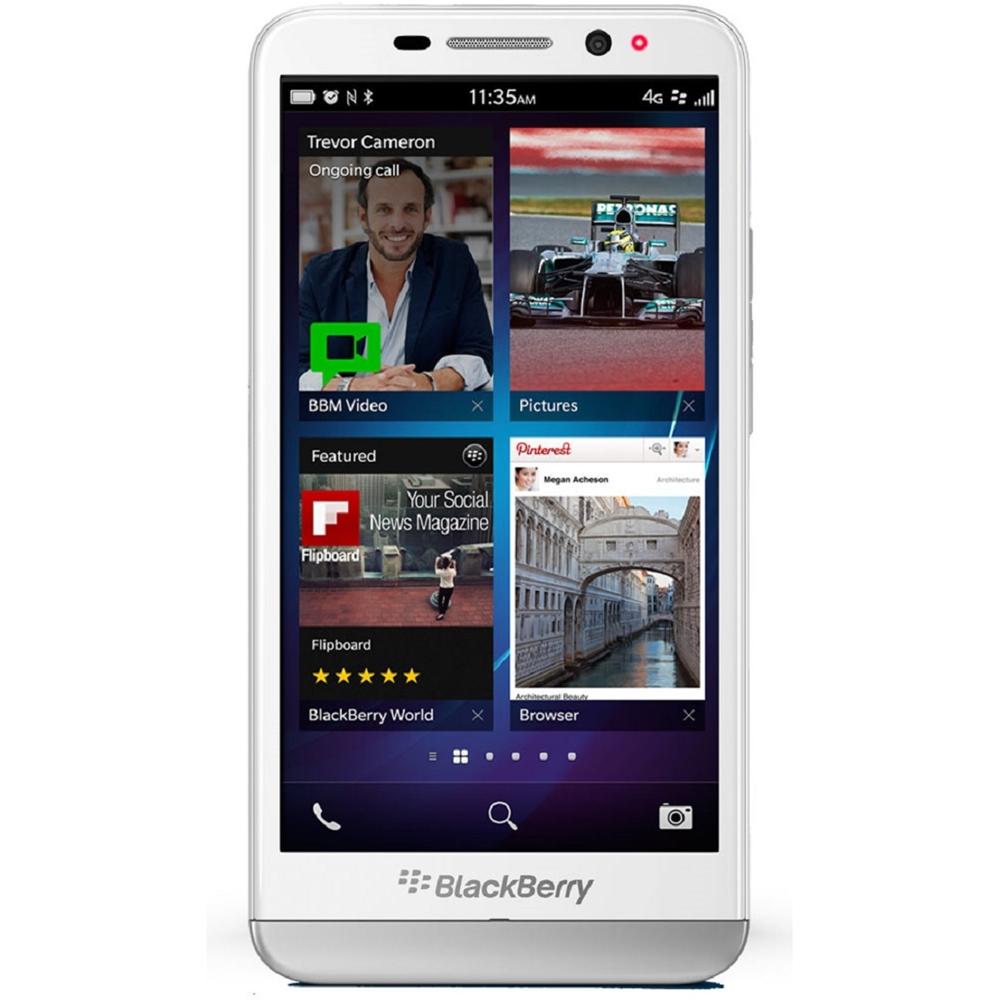 BlackBerry - Z30 4G Cell Phone (Unlocked) - White