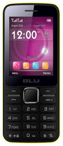 Blu - Janet Cell Phone (Unlocked) - Yellow