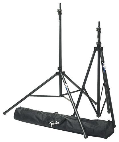 Fender® - Passport Accessories ST-275 Tripod Speaker Stands (2-Pack) - Black