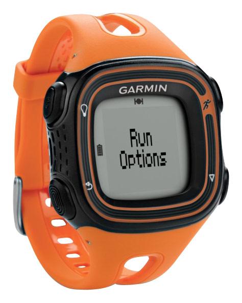 Garmin - Forerunner 10 GPS Sport Watch - Orange/Black