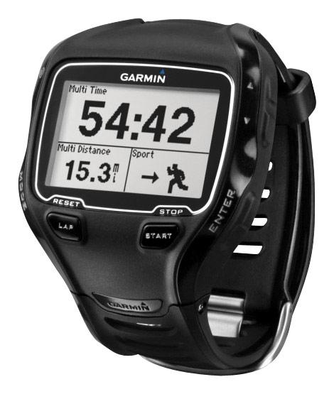 Garmin - Forerunner 910XT GPS Watch - Black