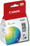Canon - 31 Chromalife High-yield Ink Cartridge - Cyan, Magenta, Yellow