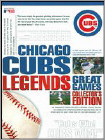 Mlb: Chicago Cubs Legends - Great Games (8pc) (DVD) (Eng)