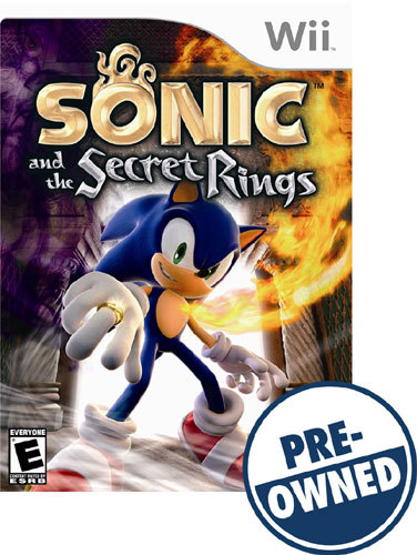 Sonic and the Secret Rings — PRE-Owned - Nintendo Wii