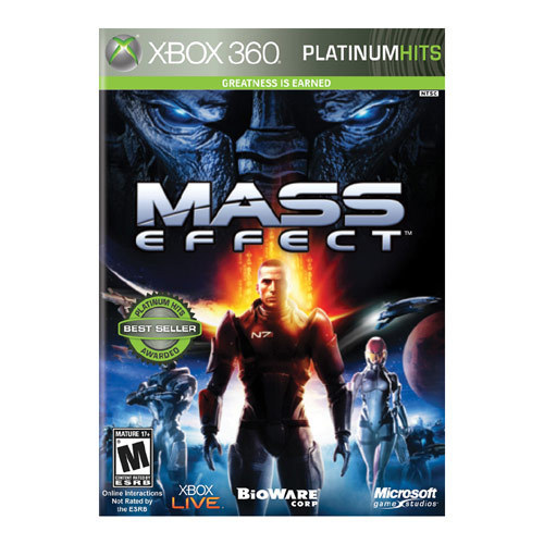 Mass Effect Platinum Hits - Xbox 360