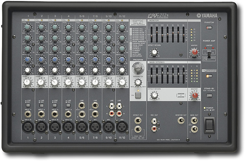 Yamaha EMX212S - 12-Channel Powered Mixer with SPX Effects