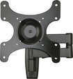 "Sanus - Full-Motion TV Wall Mount for Most 13"" - 39"" Flat-Panel TVs - Extends 15"" - Black"
