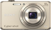 Sony - DSCWX220 18.2-Megapixel Digital Camera - Gold