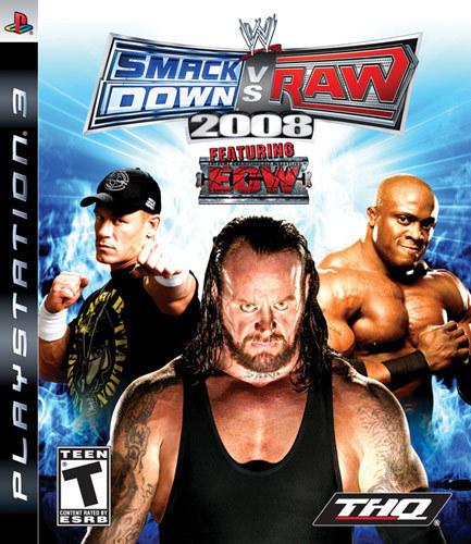 WWE 2008 Smackdown Vs. Raw - PlayStation 3