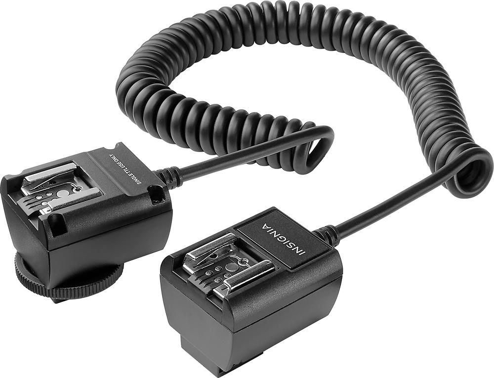 Insignia™ - Ttl Off-camera Sync Cord For Canon - Black