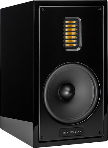 MartinLogan - Motion 35XT 6-1/2 2-Way Bookshelf Speaker (Each) - Black
