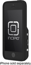 Incipio - Focal Camera Case for Apple® iPhone® 5 and 5s - Black