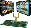 OYO - Green Bay Packers 64-Piece End Zone Set - Multi