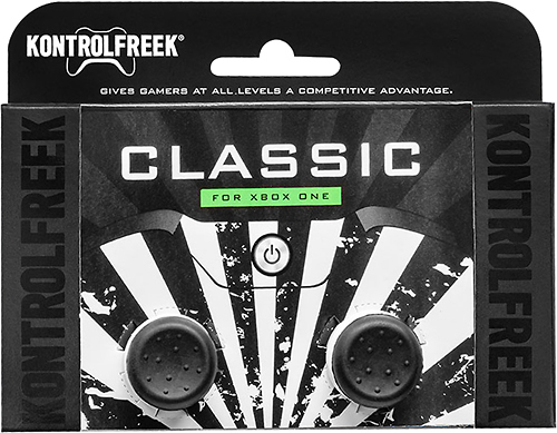 KontrolFreek - KontrolFreek Classic Analog Stick Extender for Xbox One - Gray/White