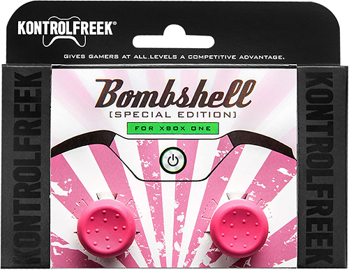 KontrolFreek - FPS Freek Bombshell Analog Stick Extender for Xbox One - Pink/White