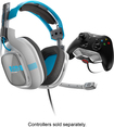 Astro Gaming - A40 Wired Stereo Gaming Headset for Xbox One - Gray/Blue