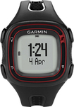 Garmin - Forerunner 10 GPS Watch - Black/Red