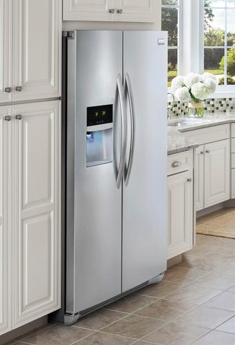 Frigidaire - Gallery 22.6 Cu. Ft. Counter-Depth Side-by-Side ...