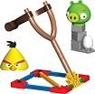 K'NEX - Angry Birds Yellow Bird Vs. Medium Minion Pig Building Set - Yellow