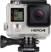 GoPro - HERO4 Black 4K Action Camera - Silver