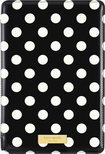 kate spade new york - Striped Folio Hard Case for Apple® iPad® mini with Retina display - Black/Cream