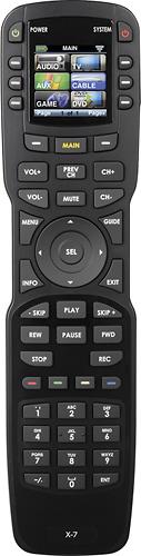 Universal Remote Control - 48-Device Universal Remote - Black