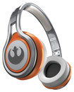 SMS Audio - Star Wars 1st Edition Rebel Alliance STREET by 50 On-Ear Headphones - Silver/Orange