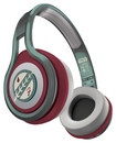 SMS Audio - Star Wars 1st Edition Boba Fett STREET by 50 On-Ear Headphones - Green/Maroon/Ivory