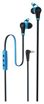 SMS Audio - STREET by 50 Sport Earbud Headphones - Blue