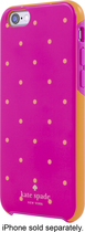 kate spade new york - Hybrid Hard Shell Case for Apple® iPhone® 6 - Pink/Orange