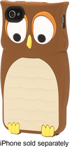 Griffin Technology - Kazoo Case for Apple® iPhone® 4 and 4S - Brown