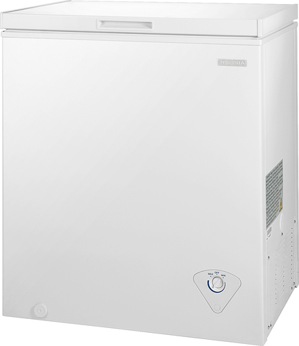 Insignia™ - 5.0 Cu. Ft. Chest Freezer - White