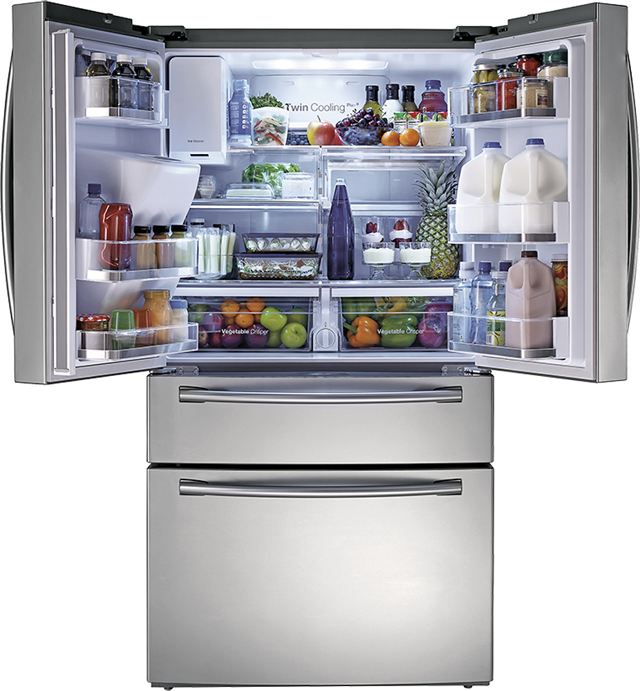 Delicieux Samsung   22.6 Cu. Ft. Counter Depth 4 Door French Door Refrigerator With  Thru The Door Ice And Water   Stainless Steel At Pacific Sales