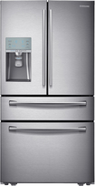 Samsung - 30.5 Cu Ft. 4-Door French Door Refrigerator with Sparkling Water Dispenser - Stainless-Steel